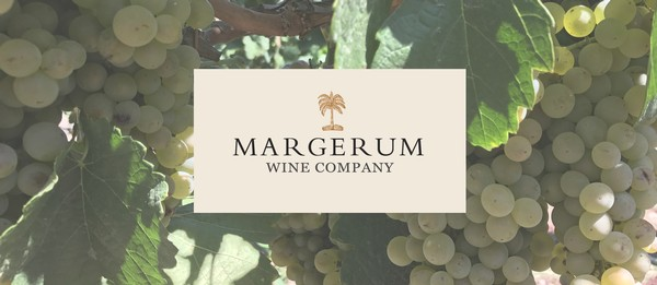 Margerum logo with grapes in background