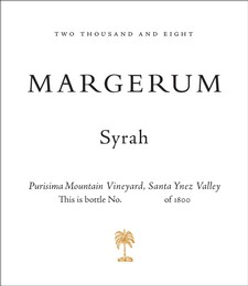 2008 Purisima Mountain Vineyard Syrah