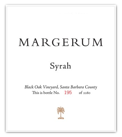 2013 Black Oak Vineyard Syrah