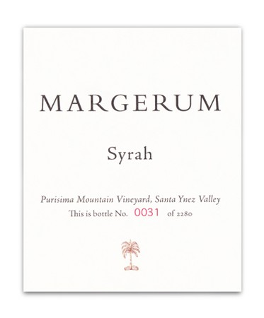 2011 Purisima Mountain Vineyard Syrah