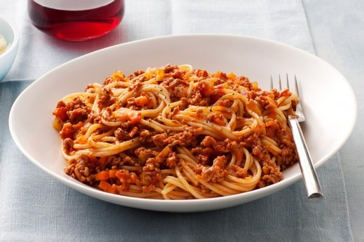 Turkey Bolognese with Roasted Cauliflower